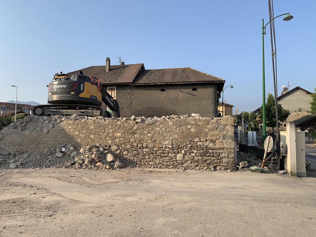 etape 1 le natural demolition
